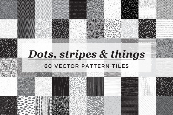 60 Seamless Vector Patterns