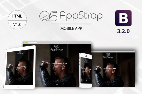 AppStrap Bootstrap App Landing Pag