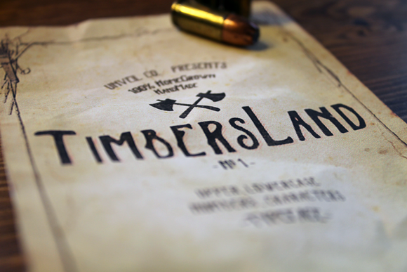 Timbersland Typeface