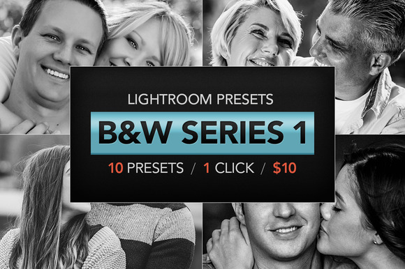 B W Lightroom Presets V1