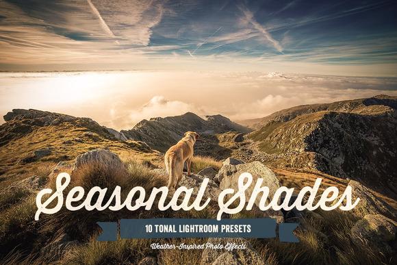 Seasonal Shades Lightroom Presets 1