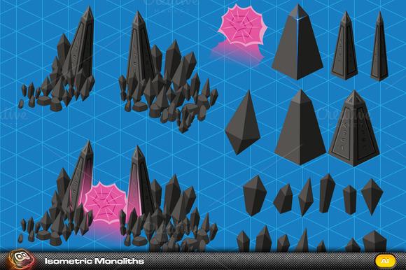 Monolith Isometric Elements