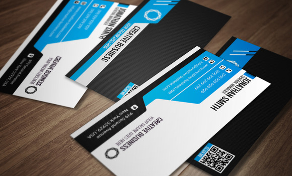 Corporate Business Card CM038