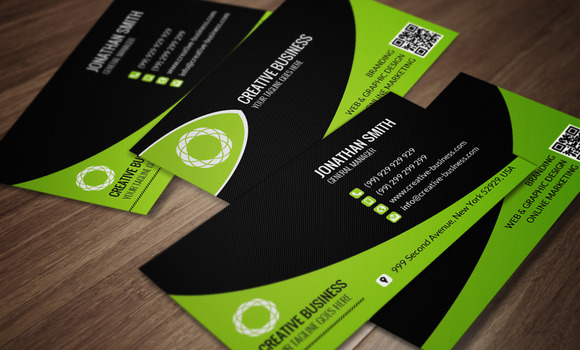 Corporate Business Card CM044