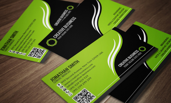 Corporate Business Card CM045