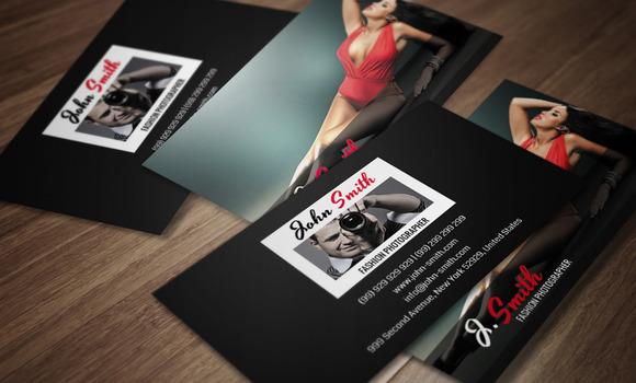 Fashion Photographer Card CM046