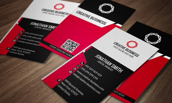Corporate Business Card CM048
