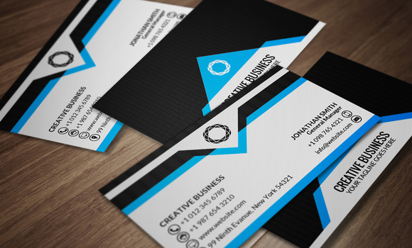 Corporate Business Card CM053