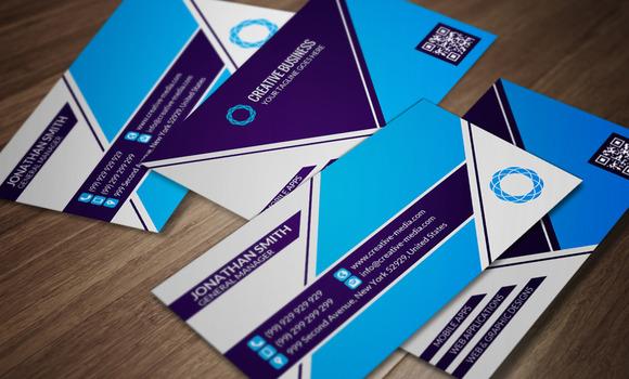 Corporate Business Card CM055