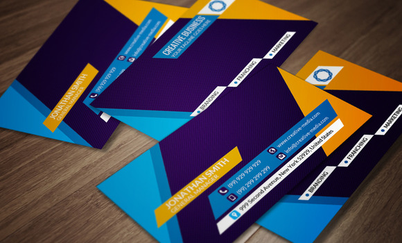 Corporate Business Card CM057