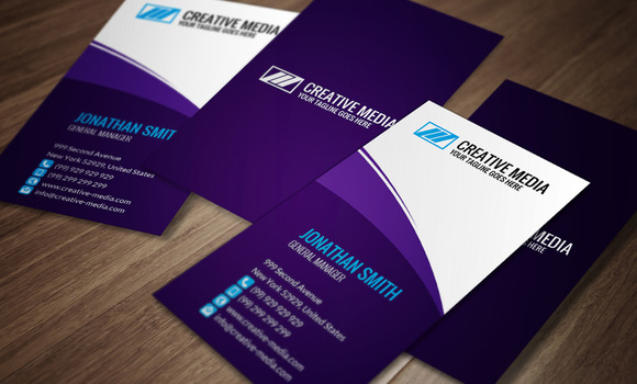 Corporate Business Card CM060