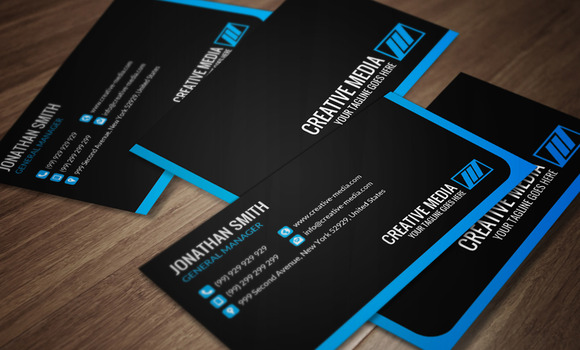 Corporate Business Card CM063