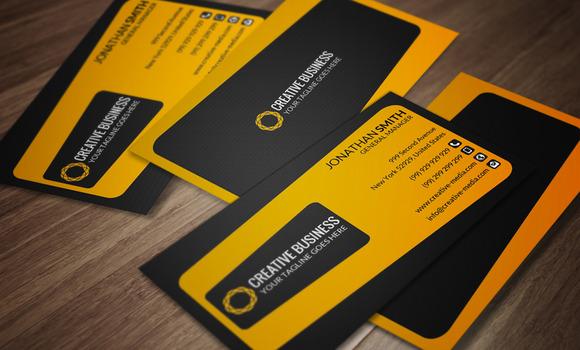 Clean Business Card CM073