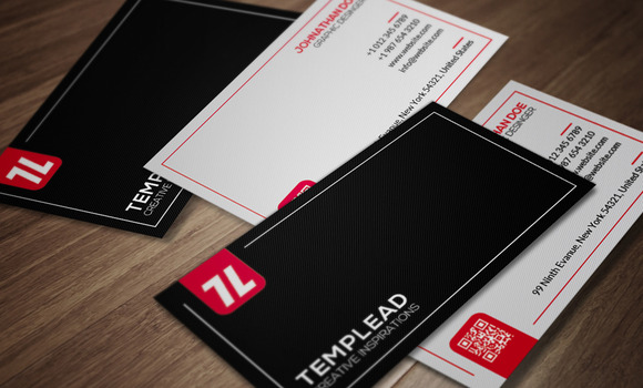 Corporate Business Card CM081