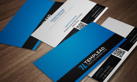 Corporate Business Card CM082