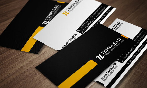 Corporate Business Card CM085