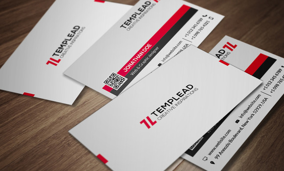 Corporate Business Card CM087