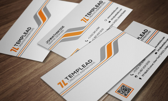 Corporate Business Card CM090