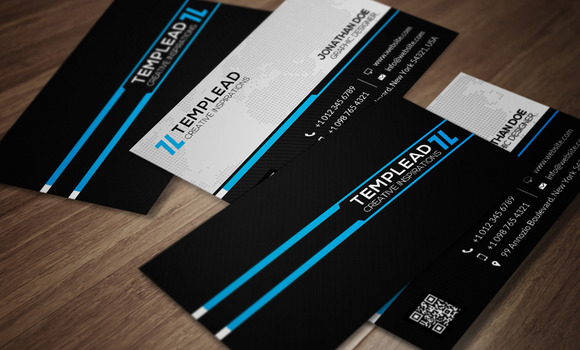 Corporate Business Card CM091