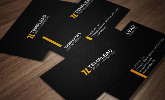 Minimal Business Card CM092