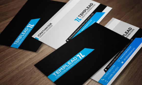 Corporate Business Card CM093