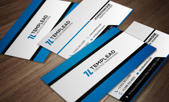 Corporate Business Card CM099