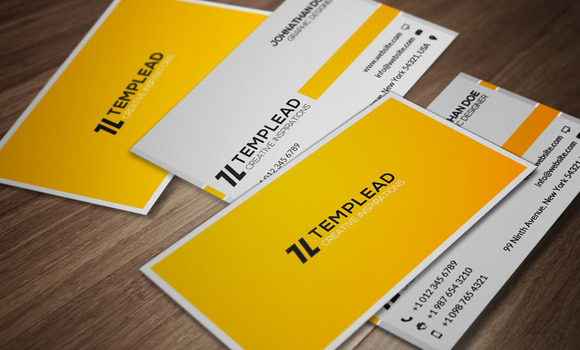 Corporate Business Card CM107