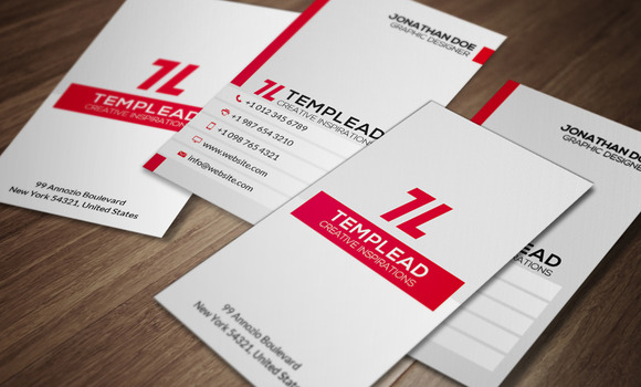 Corporate Business Card CM109