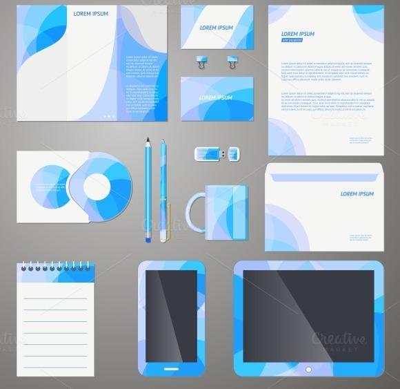 Company Brand Design Template