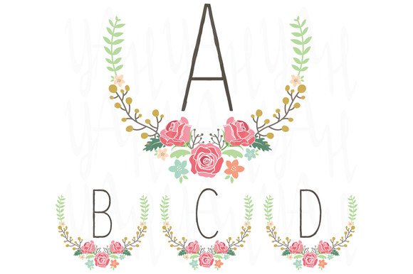 Wedding Monogram Table Card