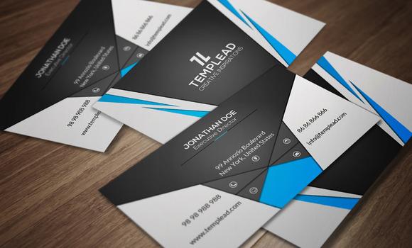 Corporate Business Card CM141