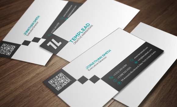 Minimal Business Card CM167