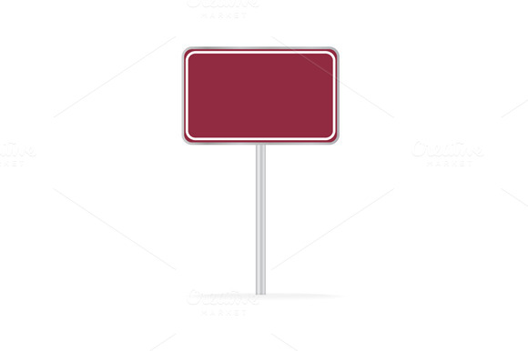 Shopping Sign Board