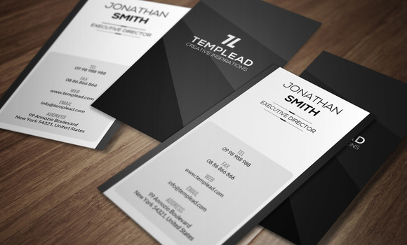 Minimal Business Card CM171