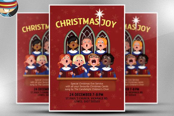 Christmas Choir Flyer Template
