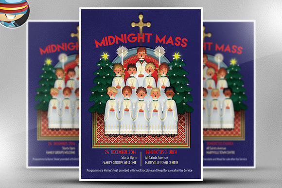 Midnight Mass Flyer Template