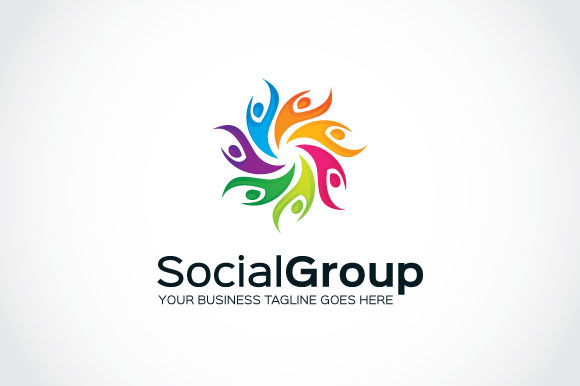 Social Group Logo Template