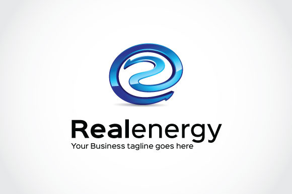 Real Energy Logo Template
