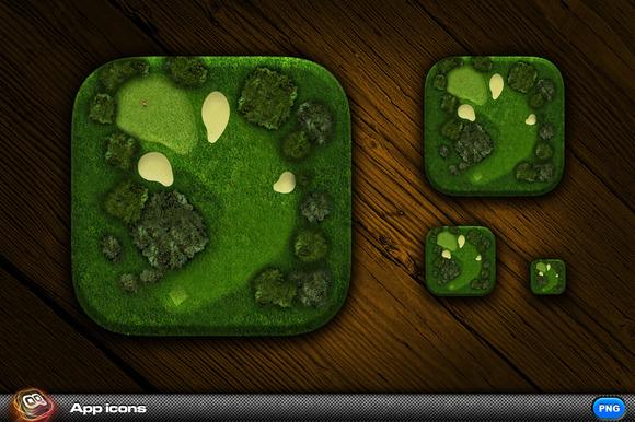 Golf App Icon 3