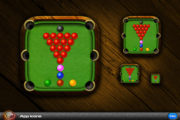 Snooker App Icon 1