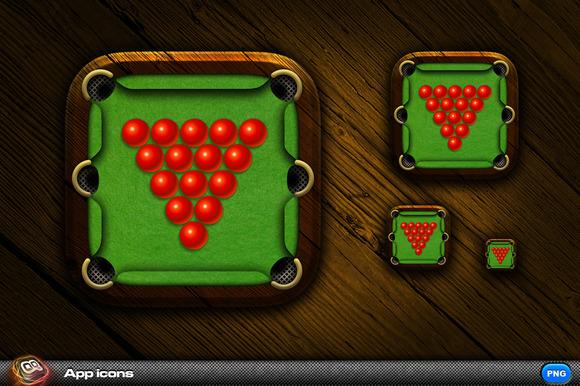Snooker App Icon 2