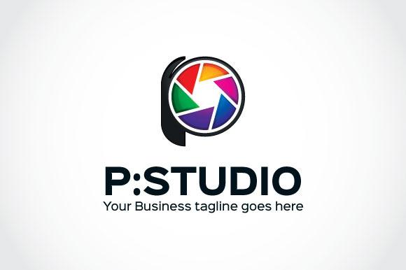 P-Studio Logo Template