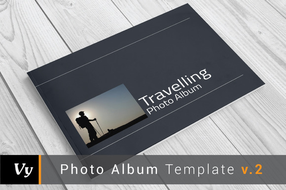 Photo Album Template V.02