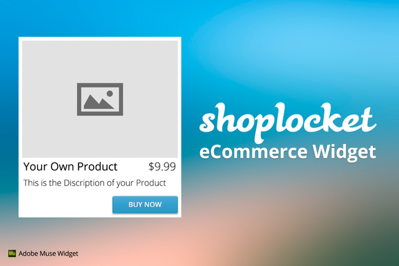 ShopLocket ECommerce Adobe Muse