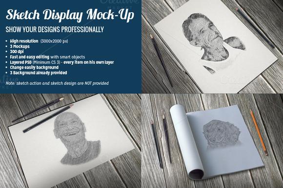 Sketch Display Mock-Up