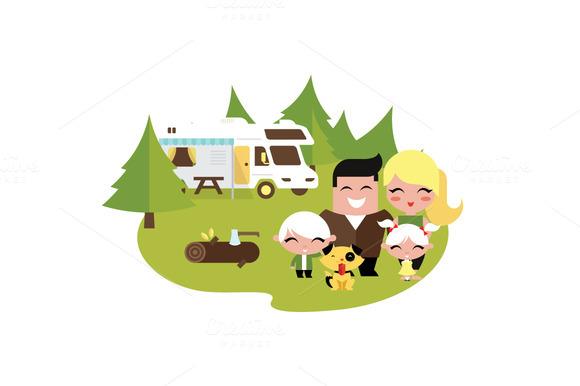 Rv Camping Family