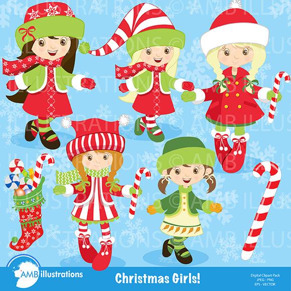 Christmas Girls 189
