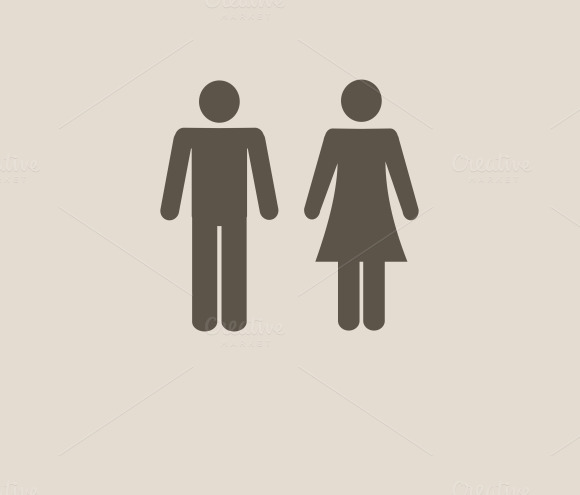 Man And Woman Icons