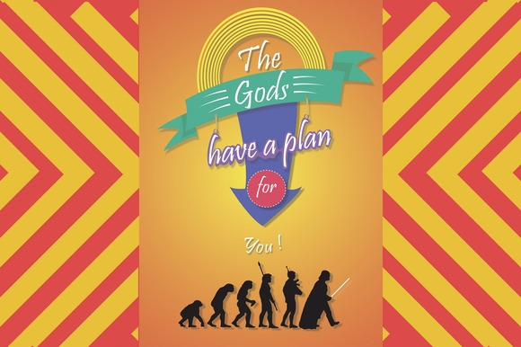 Poster The Gods Have A Plan For You