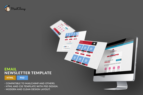 E-Newsletter Template HTML